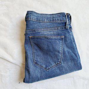 Gap True Skinny Stretch Selvedge Denim Jeans 26R